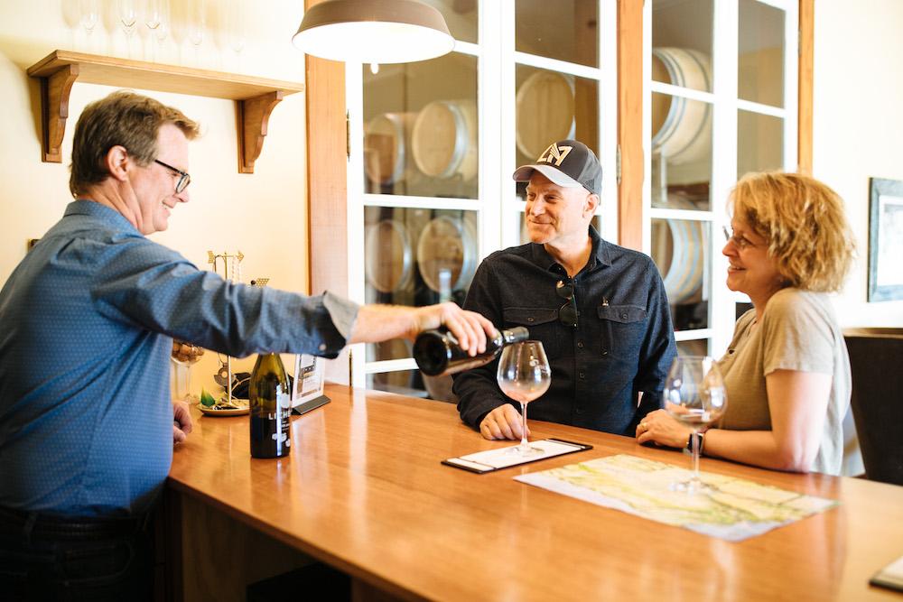 Lichen, sparkling wine, Mendocino County, Anderson Valley, California, The Press