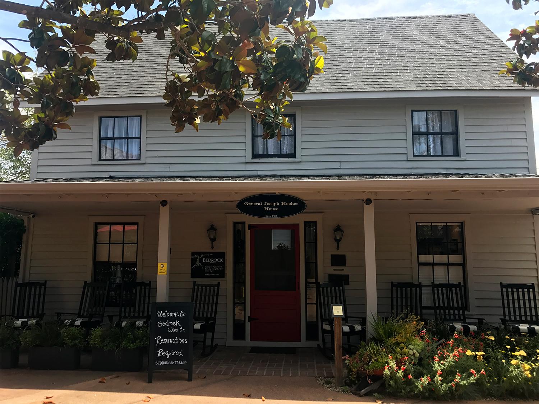 Bedrock Wine Co., Bedrock, historic tasting room, winery, Sonoma, General Joseph Hooker House, Sonoma Valley, Sonoma County, California, The Press