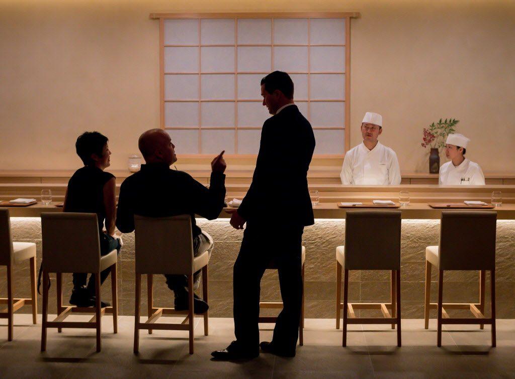 Kenzo, kaiseki menu, Napa