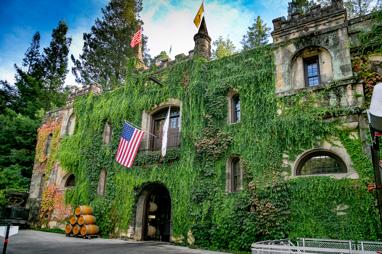 Ghost, winery, ghost winery, Chateau Montelena, Napa, Judgment of Paris, California, The Press