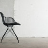 OvergaardAndDyrman_Wire_Dining_Chair_Elegance_Black_Leather_Mat_black_PowderCoated_Steel_Front_Context2
