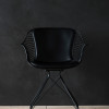 OvergaardAndDyrman_Wire_Dining_Chair_Elegance_Black_Leather_Mat_black_PowderCoated_Steel_frontview