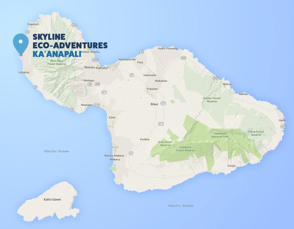 Google Map of Kauai
