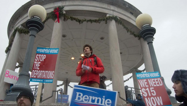 Elan Speaks at #MarchForBernie Boston