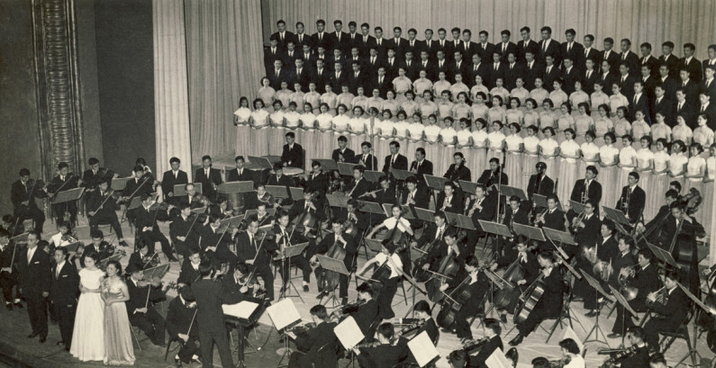 China Central Philharmonic in 1959