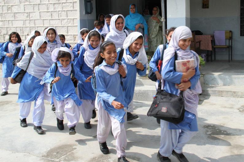 School girls in Abbottabad