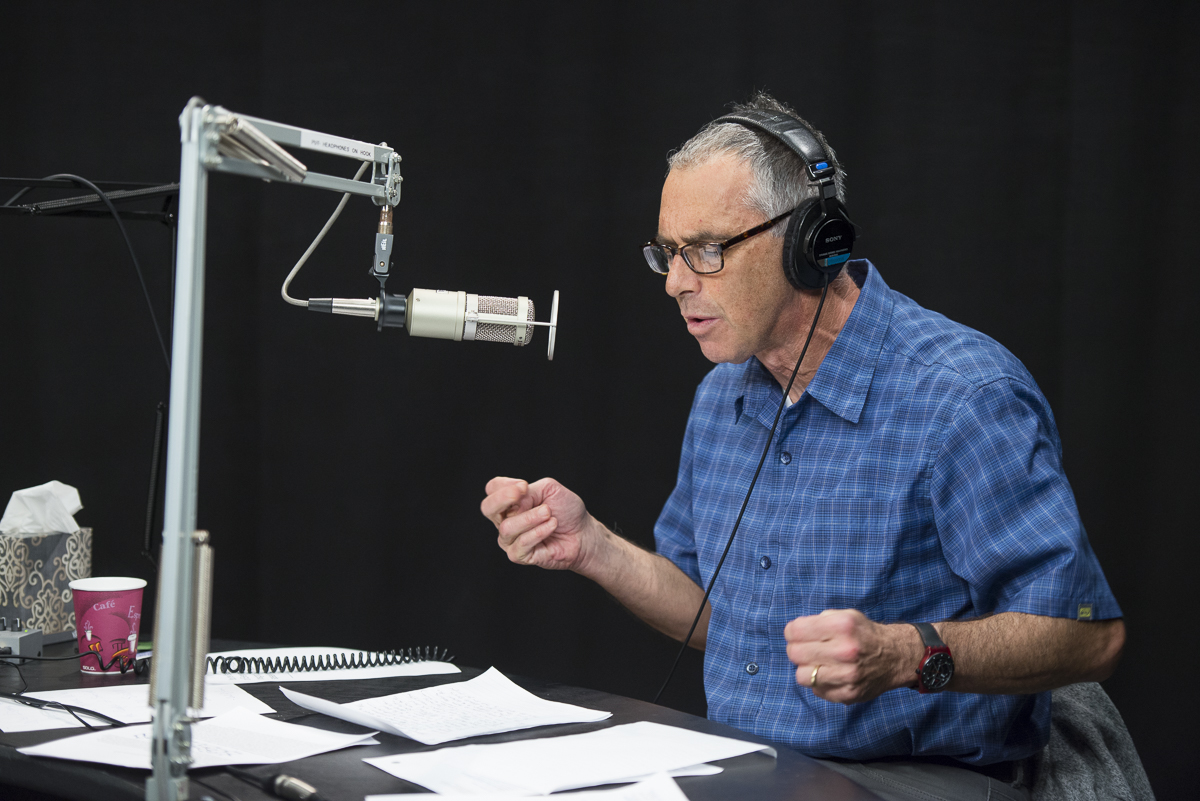 """Taping of the SiriusXM radio show, """"The Future of Everything"""" with host Russ Altman"""