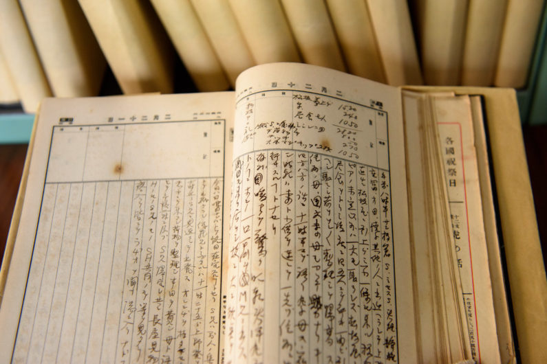 Hisao Magario's diaries cover the years from 1920-60.