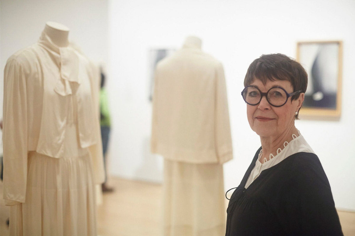 "ProfessorEmeritaWandaCornatthe""GeorgiaO'Keeffe:LivingModern""exhibitionattheBrooklynMuseum"