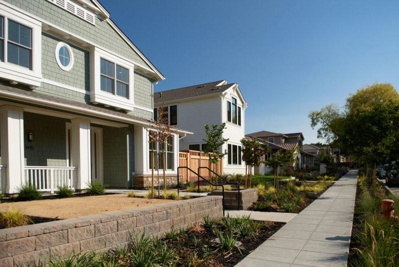University Terrace homes