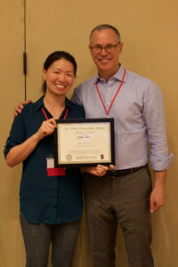 Jennifer Chien and Jon Blum at BEAM awards ceremony. (Image credit: Ahmad Wright)
