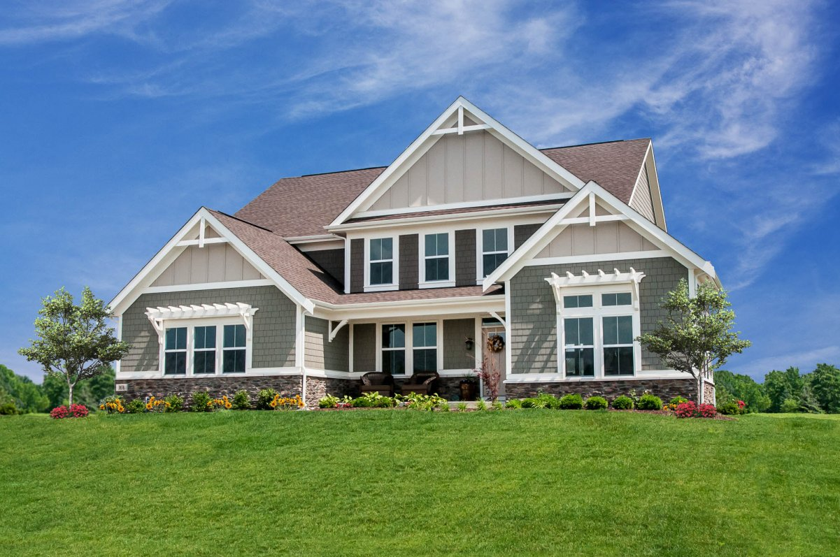 Overbrook Farms Single Family Homes By Fischer Homes Builder In Carmel, IN.