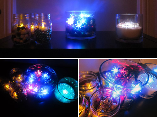 Let There Be Light LED Holiday Centerpieces Brit Co
