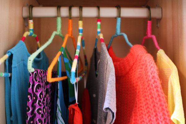 Neonhangers clothes