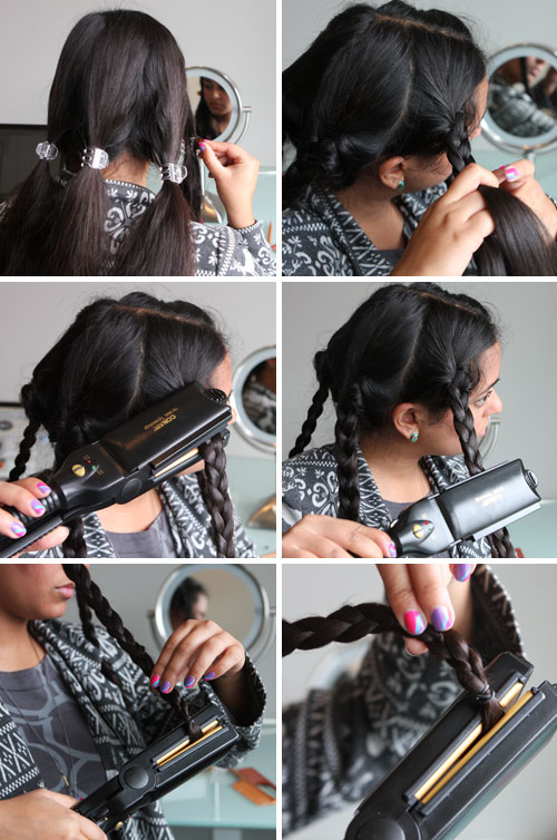 Beauty Hack Flat Iron Your Braids To Make Waves Brit Co
