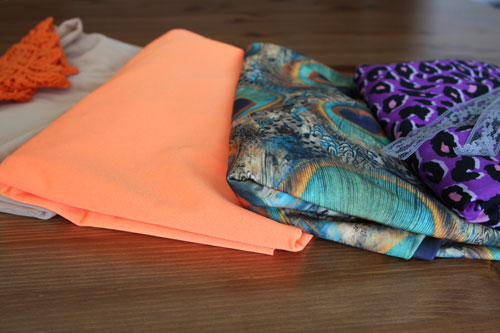Turn any yard of fabric into a chic beach wrap brit co for Anything made by waste material