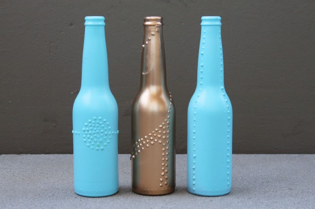 How To Do Glass Painting Designs On Bottles