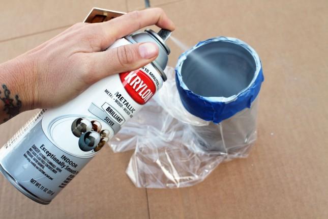 diy basics inside out painted jars brit co. Black Bedroom Furniture Sets. Home Design Ideas
