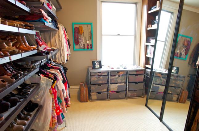 Convert closet to bedroom
