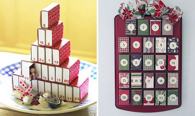 Diy Advent Calendar Drawers : Awesome advent calendars brit co