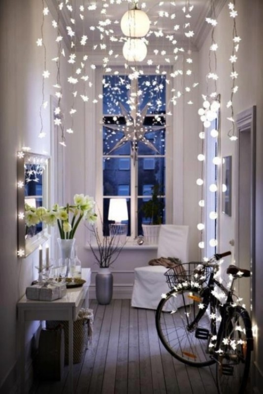 Winter Decorating Ideas Prepossessing With IKEA Christmas Lights Picture