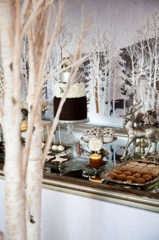 10 Chic Ideas for Winter Party Dcor Brit Co