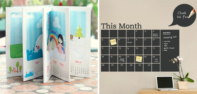 30 Cool Creative Quirky Calendars For 2013 Brit Co