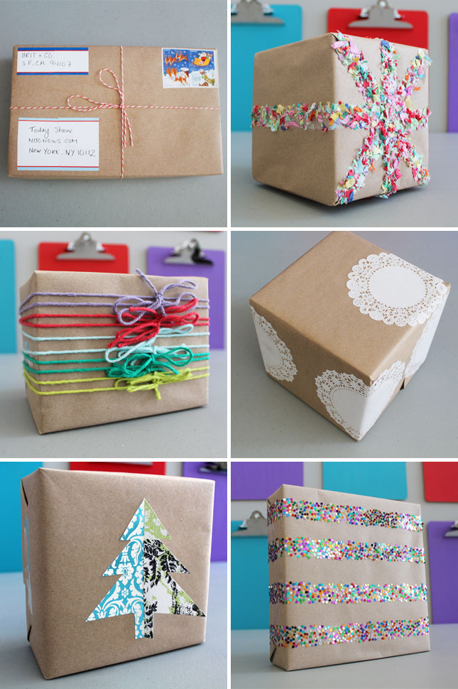 As Seen On The Today Show 15 Creative Ways To Gift Wrap