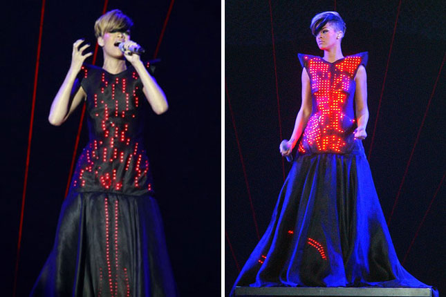 We Re Obsessed 10 Glowing Geek Chic Gowns Brit Co