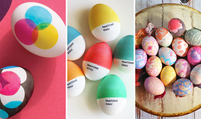 0 eggs Creative easter egg decorating ideas