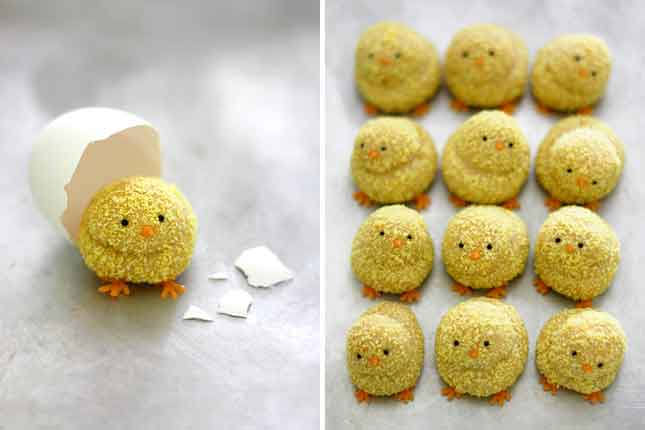 Easter Chick Cookies : For a slightly healthier cookie, try ...
