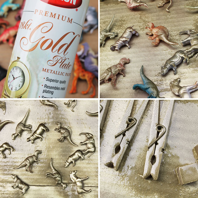 Go for the gold 9 things you can make with gold animal for West materials things