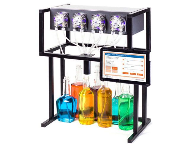 Bartendro A Cocktail Dispensing Robot Brit Co