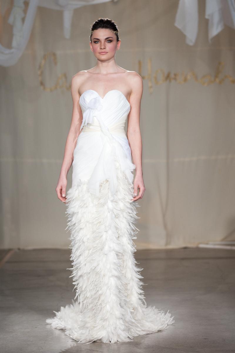 20 unconventional wedding dresses for the modern bride for Modern wedding dress designers