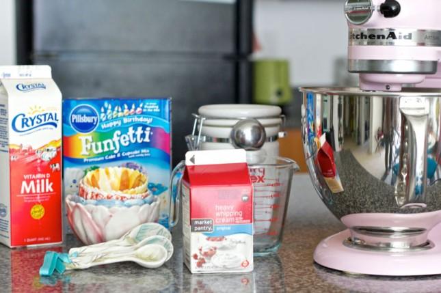 What's Better Than Ice Cream Cake? Cake Batter Ice Cream! | Brit ...