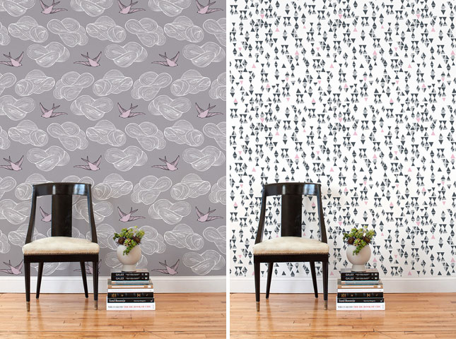 20 Beautiful And Innovative Wallpaper Designs Brit Co