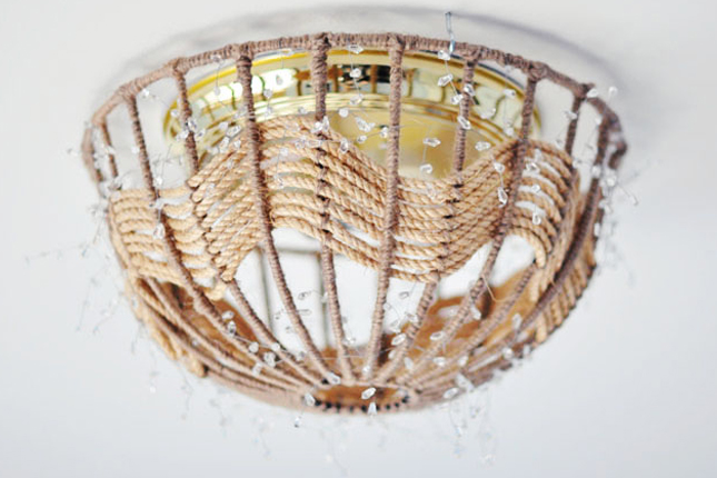 30 Rope Pendant Light Finally A Light Fixture Makeover