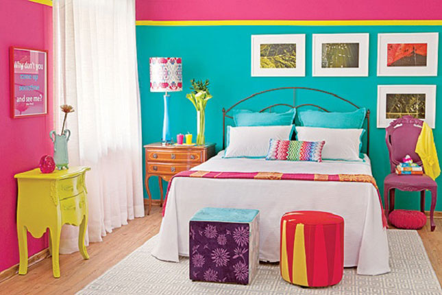16 neon bedroom and last every color under the sun in your bedroom