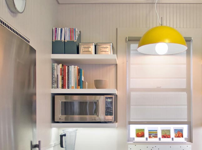 25 Bright Ideas For Incorporating Open Shelves Into Your