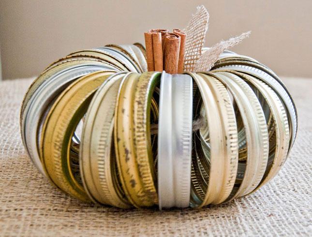 Jar Rings Pumpkin