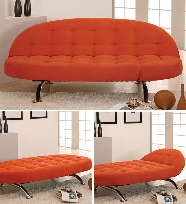 10 sleeper sofas that don t suck brit co for Chaise lounge convertible bed
