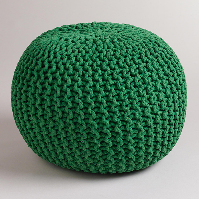 16 Pretty Poufs You Need in Your Home | Brit + Co