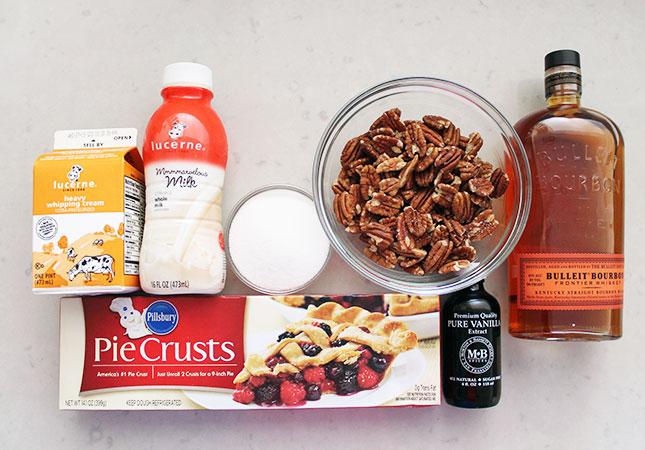 Spike Your Sweets: Bourbon Pecan Pie Ice Cream   Brit + Co