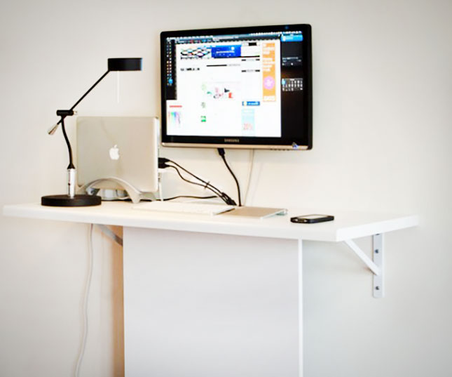 20 diy standing desk this diy standing desk uses a