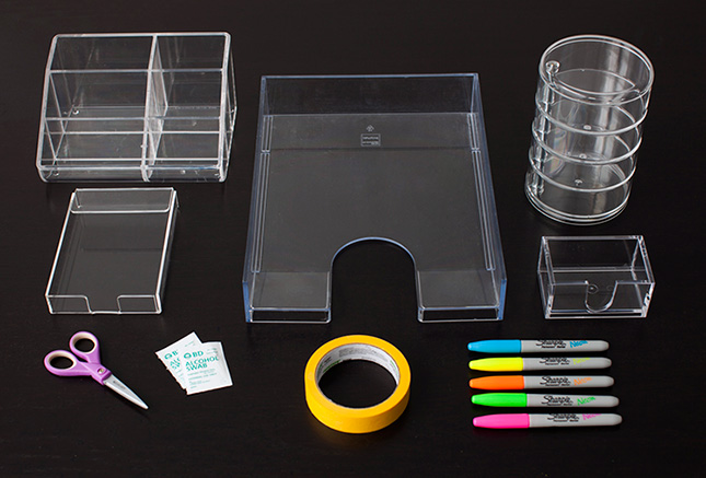 Acrylic Desk Accessories Images