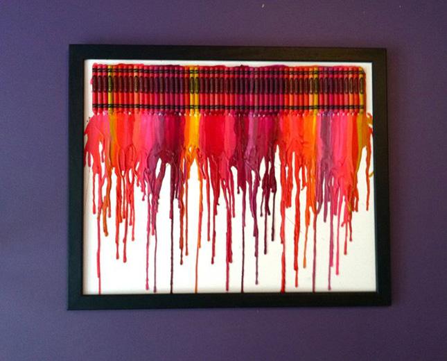 11 colorful crayon diy ideas