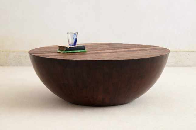 Table ($1,698): Rustic meets elegant in this spherical coffee table ...