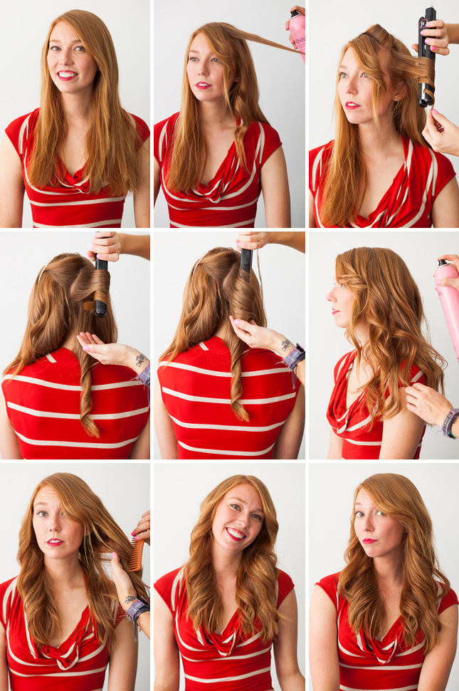 Styling secrets that making doing your hair on New Year's Eve a breeze