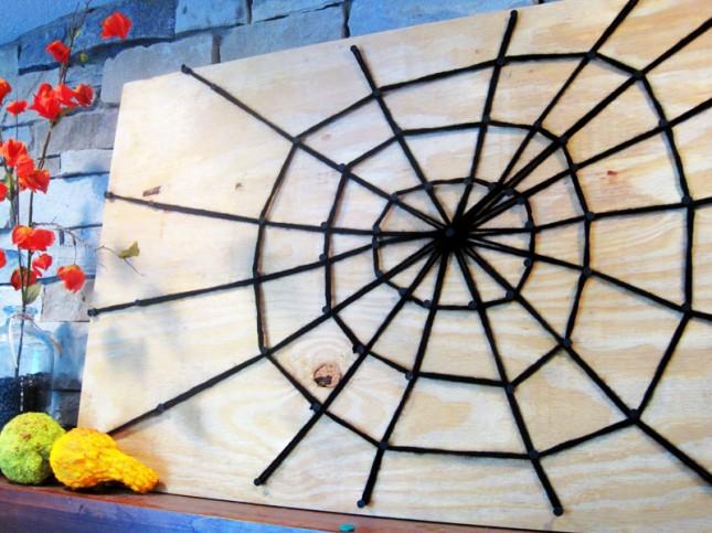 Совет 1: Как сделать паутину