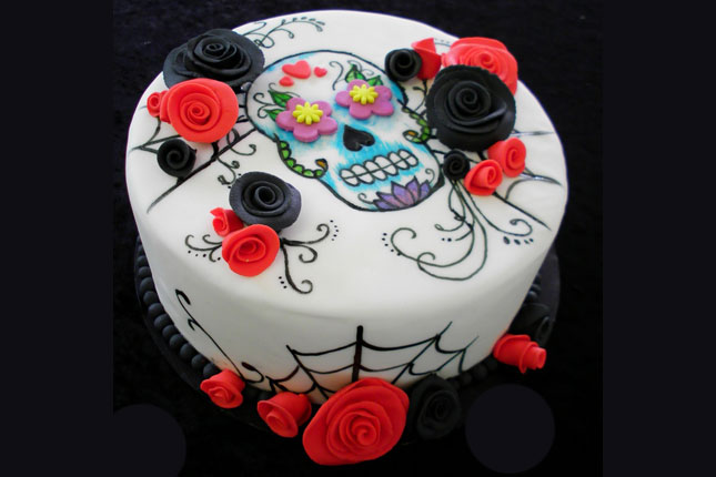 how to make fondant sugar skulls